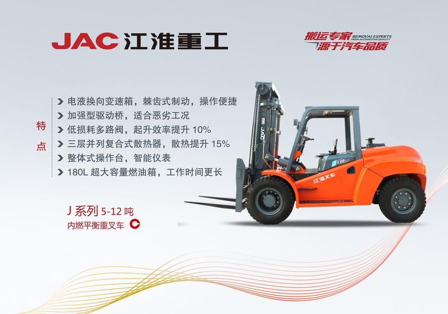 5-12T江淮叉车